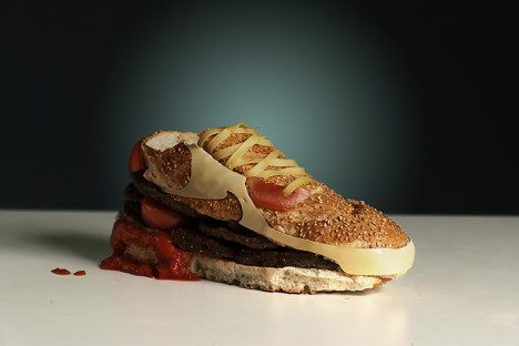 edible nike shoe