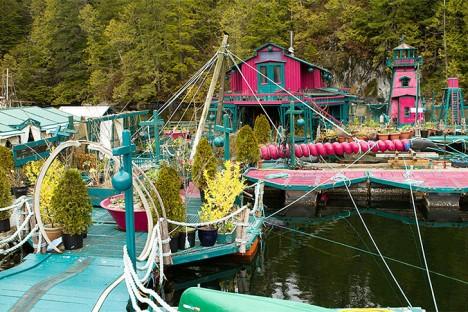 floating island complex platforms