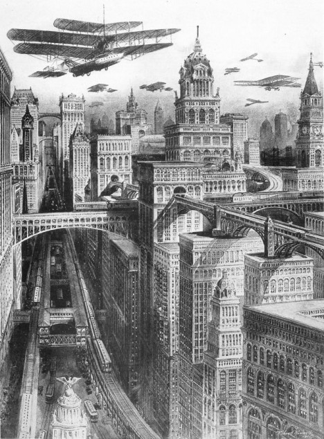 6 Passenger Vehicles >> Retrofuturistic Urbanism: 6 Cities as they Could Have Become | Urbanist
