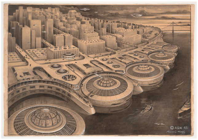 future retro city