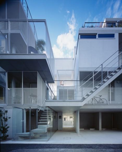 japan apartments terraces