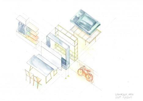 mobile box house diagram