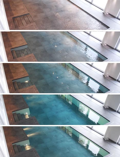 modern pool hidden floor 2