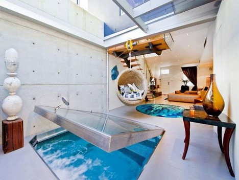 modern pools indoor outdoor