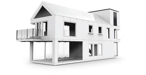 modular house block system