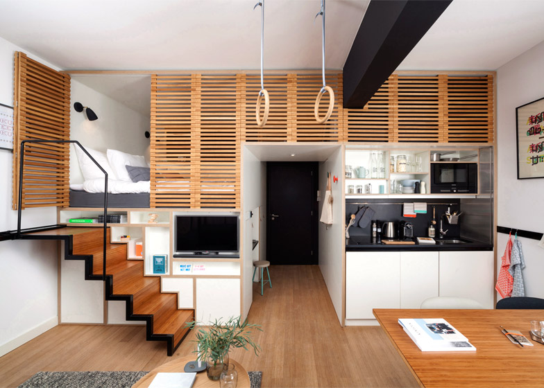 modular space saving interior