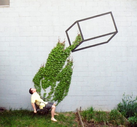 nature street art aakash