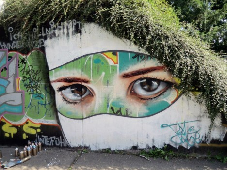 nature street art just cobe