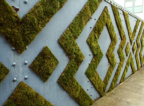 nature street art moss graffiti