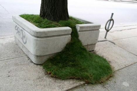 nature street art planters toronto