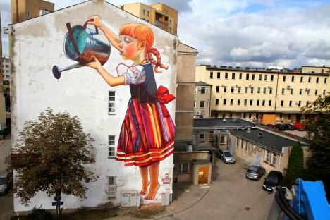 nature street art rak
