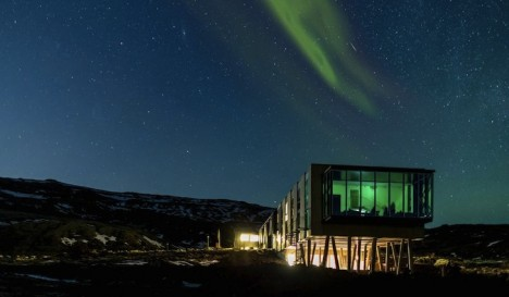 northern lights hotel iceland