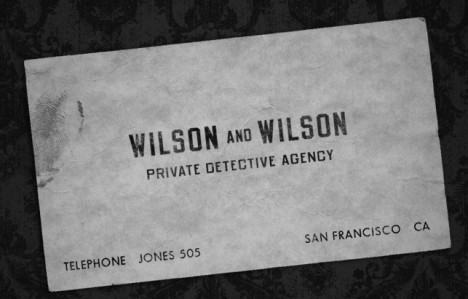 san francisco wilson and wilson private detective agency