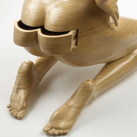 sculptural furniture peter rolfe 2