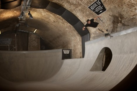 skate park tunnel london