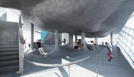 skate parks multistory 2