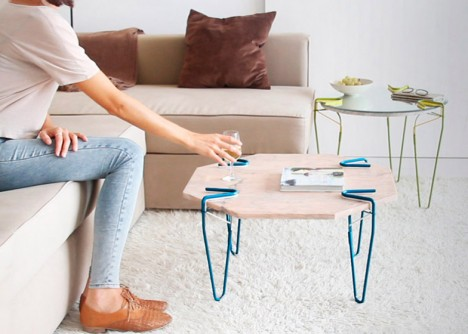 snap simple coffee table