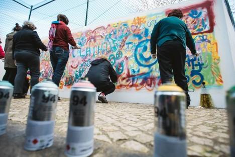 street artist student group