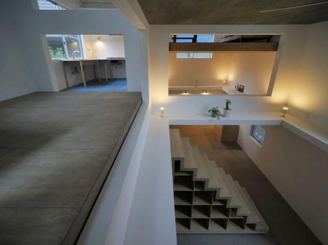2 open home layout ninja house