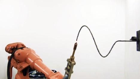 3d extruding robot curves