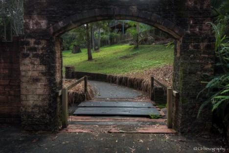 abandoned moat draw breidge