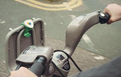 augmented city bike device