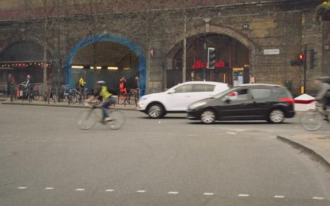 augmented urban path highlight