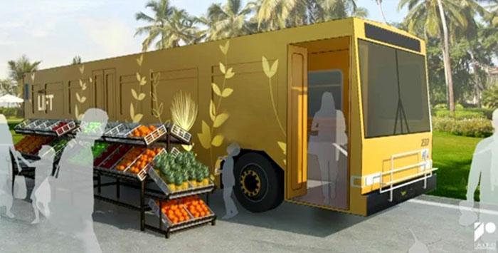 converted mobile homeless shelter