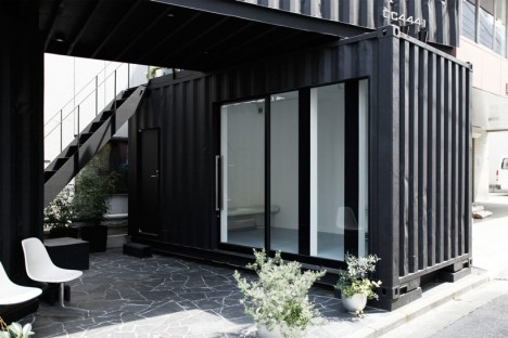 converted shipping containers corner tokyo 2