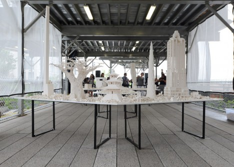 interactive high line architecture