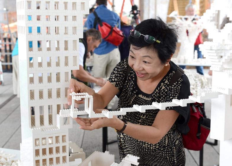 interactive lego work