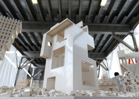 interactive miniature architecture nyc