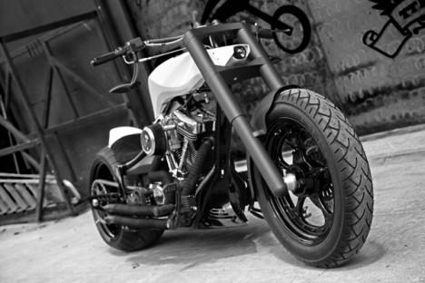 modern motorcycles TT chopper 2