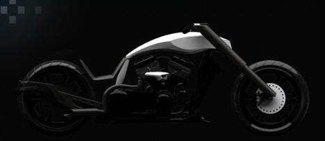 modern motorcycles TT chopper