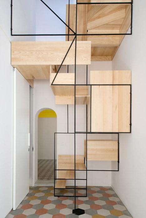 modern stairs cubist 2