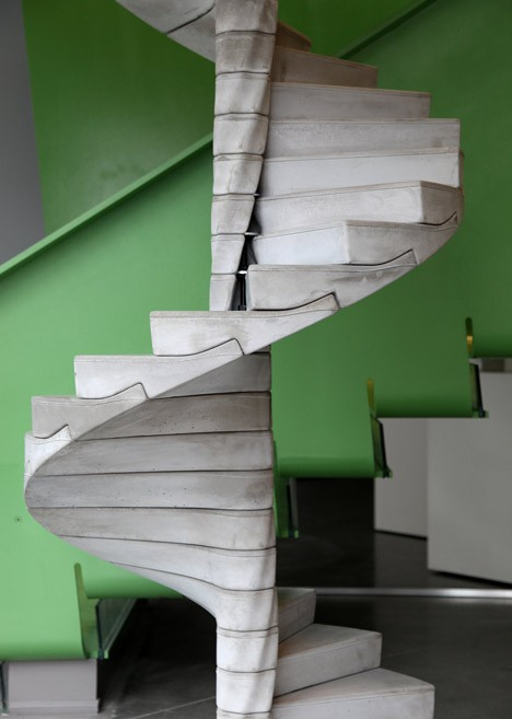 modern stairs helix 2