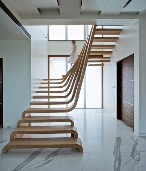 Modern Stairs A Step Above The Rest 15 Spectacular Modern Staircases  Urbanist