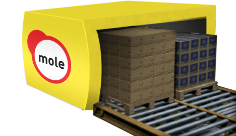mole solutions pallet offloading