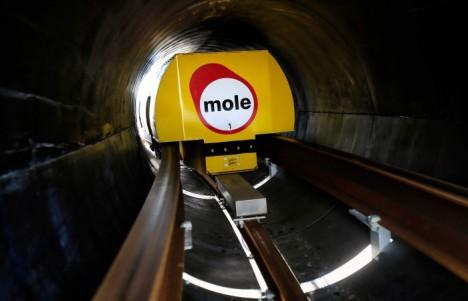 mole underground delivery network
