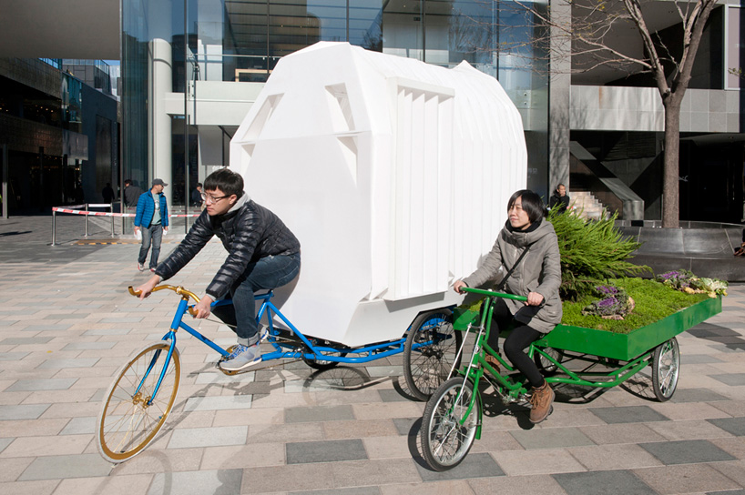 off grid tricycle house