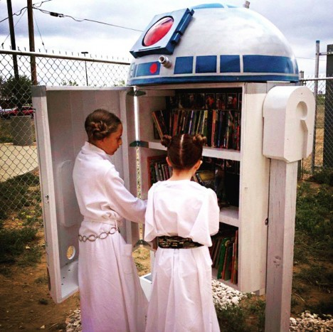 r2d2 little free library