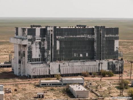 space shuttle building exterior