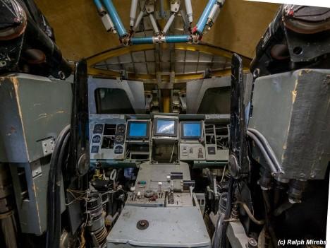 space shuttle cockpit view