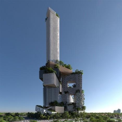 vertical cities jakarta