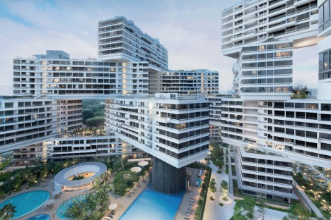 vertical cities singapore village