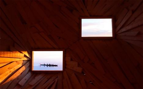 wooden room 2