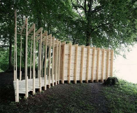 wooden room 4