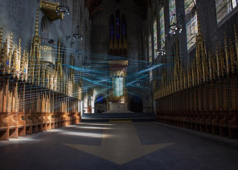 abadoned church installation 2