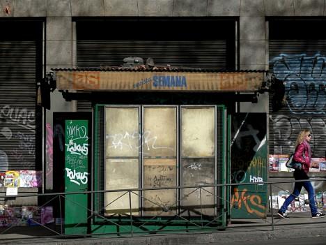 Unread: 12 Abandoned Inner City Newsstands
