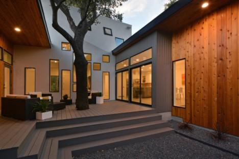 Αποτέλεσμα εικόνας για tree in house architecture